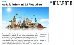 billfold travel